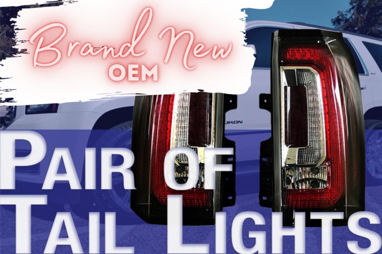 NEW OEM GMC Yukon Tail Lights