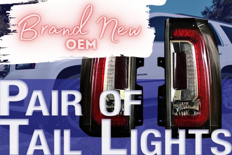 NEW OEM GMC Yukon Tail Lights